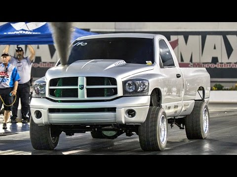 TRIPLE Turbo Cummins - 9 Second TRUCK!?