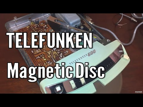 Magnetic Disc Recording & Telefunken 600