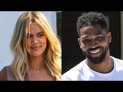 EXCLUSIVE - Khloe Kardashian Returns To Cleveland Greeted With A Sweet Surprise By Tristan [VIDEO]