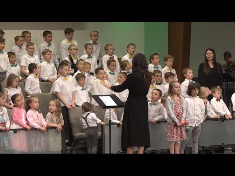 Friday, April 26, 2019. Kids' Easter Service. First Ukrainian Baptist Church Of Seattle.