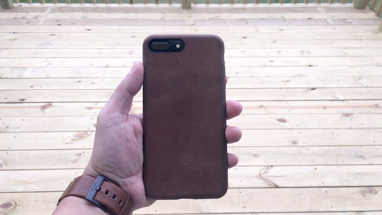 the latest bf39a 8314d Nomad Horween Leather Case for the iPhone 7 Plus