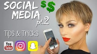 Social Media Tips & Tricks - Influencers Alexandra Anele
