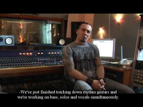 BEHEMOTH — Episode III — Guitar & Bass Tracking 2009 e.v. (OFFICIAL BEHIND THE SCENES)