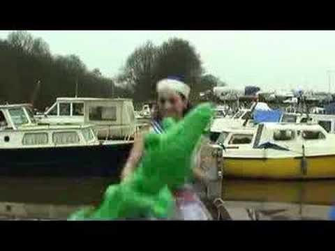 the double dj's - roeien zeilen vissen videoclip