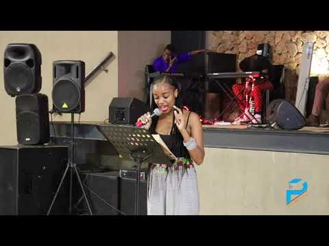 Ms Makhongela on Bonfire at the Limpopo NYI Camp