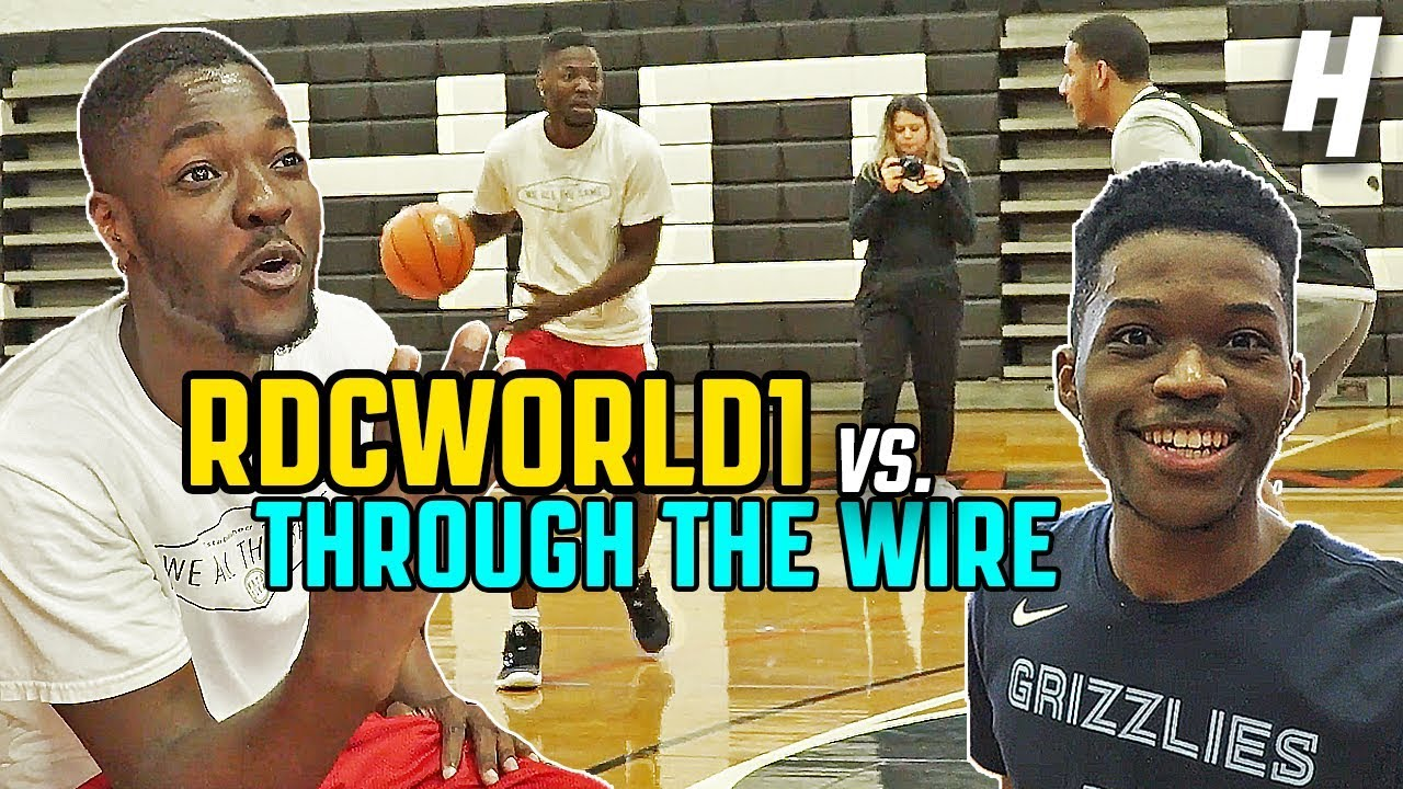RDCworld1 vs. Through The Wire Podcast BASKETBALL GAME!