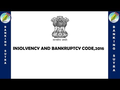 insolvency and bankruptcy code 2016 in hindi | insolvency and bankruptcy code 2016 lecture