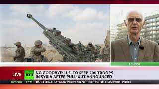 Hard to Say Goodbye? US to leave 200 troops in Syria for a 'period of time' after withdrawal