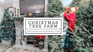 CHRISTMAS TREE FARM VLOG   DECORATE OUR TREE WITH US   NEELY FARMS
