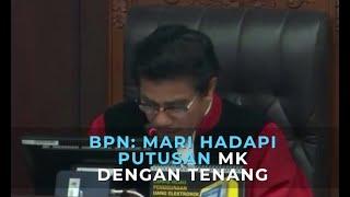 Gambar cover BPN Prabowo-Sandiaga: Mari Hadapi Putusan MK dengan Tenang