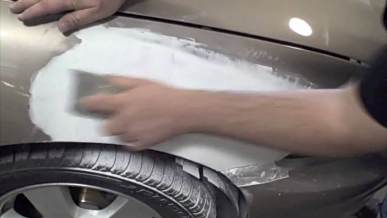 How to putty the car 11