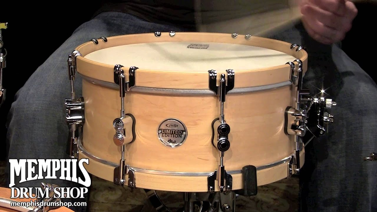 pacific pdp 14x6 limited edition classic wood hoop snare drum natural youtube. Black Bedroom Furniture Sets. Home Design Ideas
