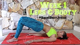 Bikini Body Challenge - Week 1, Butt & Leg Workout