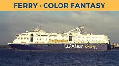 Passage on ferry COLOR FANTASY, Kiel - Oslo (Color Line)