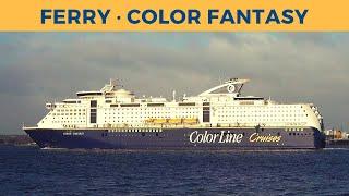 Passage On Ferry Color Fantasy, Kiel - Oslo  Color Line