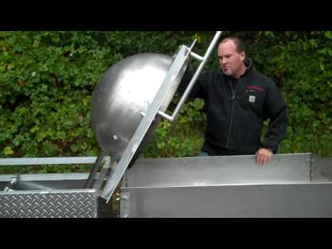 Kettle Corn Machine Sifting & Cooling Table Greg W Sweet