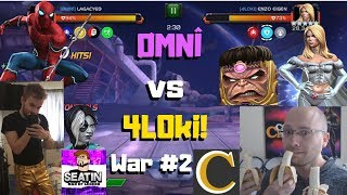 OMG! AW! ØMNÎ vs 4L0ki! Season 5 #2! Brian/Seatin/Cade/Pete/Hector! - Marvel Contest of Champions
