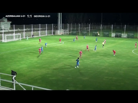 AZERBAIJAN U-21 - GEORGIA U-21, Friendly game
