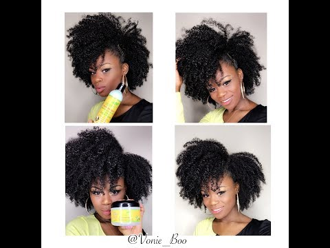 Wash And Go And Style using J Organic Solutions