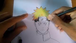 Desenhando Naruto Shippuden - Speed Draw