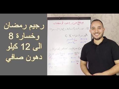 رجيم رمضان وخسارة 8 الى 12 كيلو دهون وزيادة معدل الحرق الى عشر أضعاف Youtube