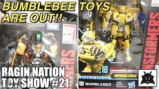 Bumblebee Toys are out!!! - [RAGIN NATION TOY SHOW #21]