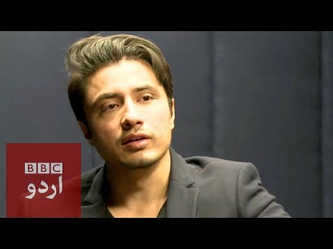 Ali Zafar Talks about Peshawar School Attack Tribute song - BBC Urdu