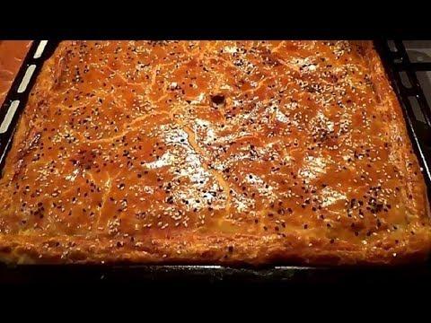 Пирог мясной с обалденным тестом Очень вкусно, сочно и сытно Простой рецепт