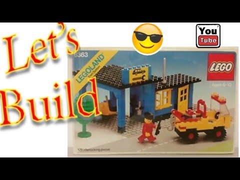 Let's Build LEGO Set 6363 The Auto Repair Shop