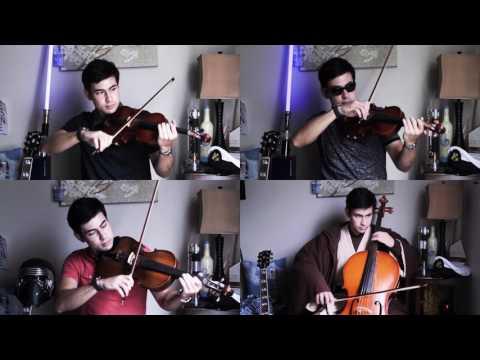The Force Theme/Binary Sunset Quartet Cover + Sheet Music (Star Wars)