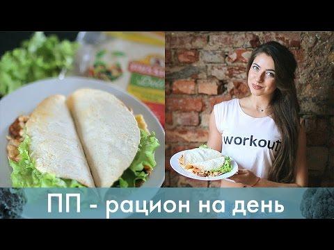 Правильное питание - рацион на 1500 ккал [Лаборатория Workout]