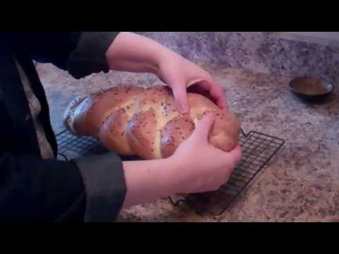 Easy! Bread Machine Challah Bread