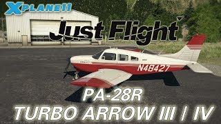 Just Flight PA-28R Turbo Arrow III / IV for X-plane 11