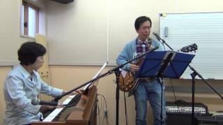 「静かな夜」は、アレンジが大好きな曲です。 ギターの山川さんに、弾き...