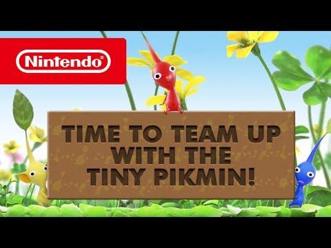 Hey! PIKMIN - Meet the Pikmin Trailer (Nintendo 3DS)