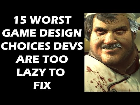 15 WORST Game Design Choices Developers Are Too LAZY To Fix