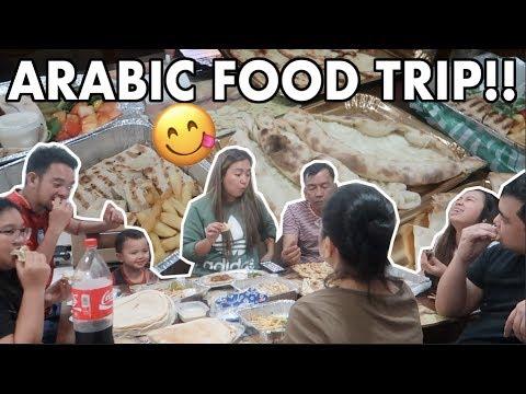 FOOD TRIP SA QATAR! SHAWARMA, KEBAB, KUBOOS, AKAWI, HALLOUMI ETC. - anneclutzVLOGS