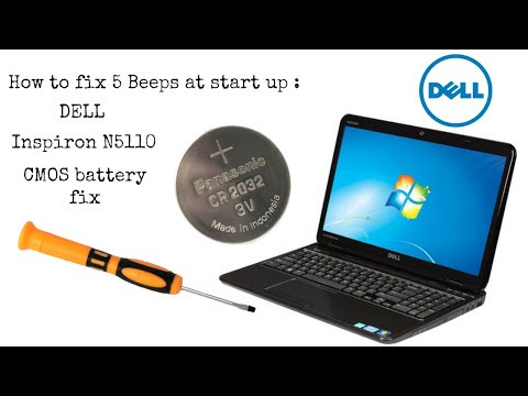 How to fix a Dell Inspiron that beeps 5 times on start up for almost FREE