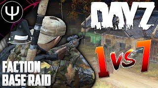 RAIDING A Faction Base on DayZ STALKER! — DayZ