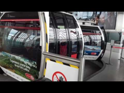 Tour of Emirates Royal Docks Cable Car Station, London (17.04.17)