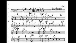 St.Thomas - Sonny Rollins - Backing Track / Play Along