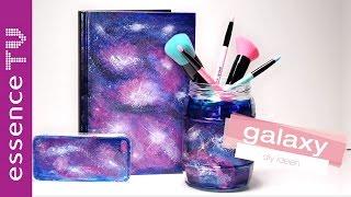 tumblr inspired galaxy diy - so verschönert ihr handy u.a. mit nagellack l essenceTV