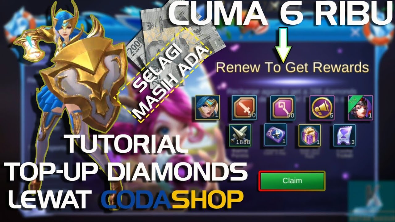 how to top up diamonds mobile legends via codashop