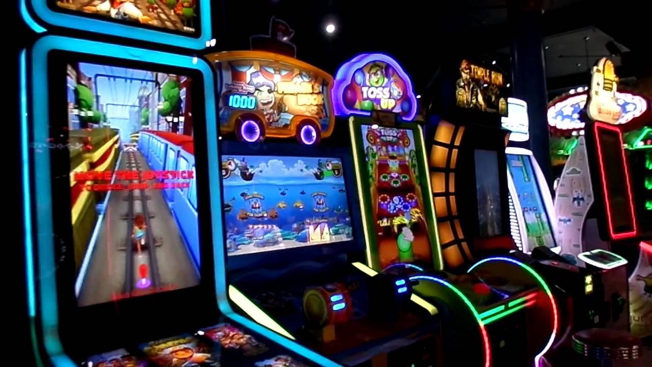 casino arcade at the santa cruz beach boardwalk