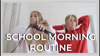 SCHOOL MORNING ROUTINE - izaandelle