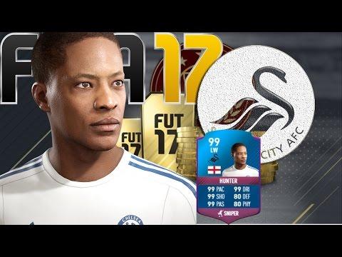 FIFA 17 The Journey Swansea!!!