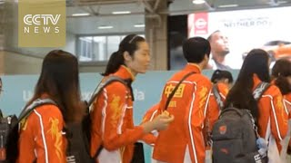 RIO 2016: China's women's volleyball squad heads home