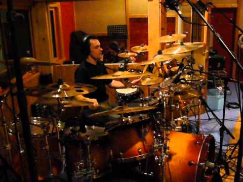 AWACKS Recording drums session - Ashes of life