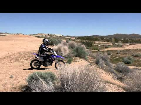 Dirt Bikes In Mojave Desert - Spring Ride 2016