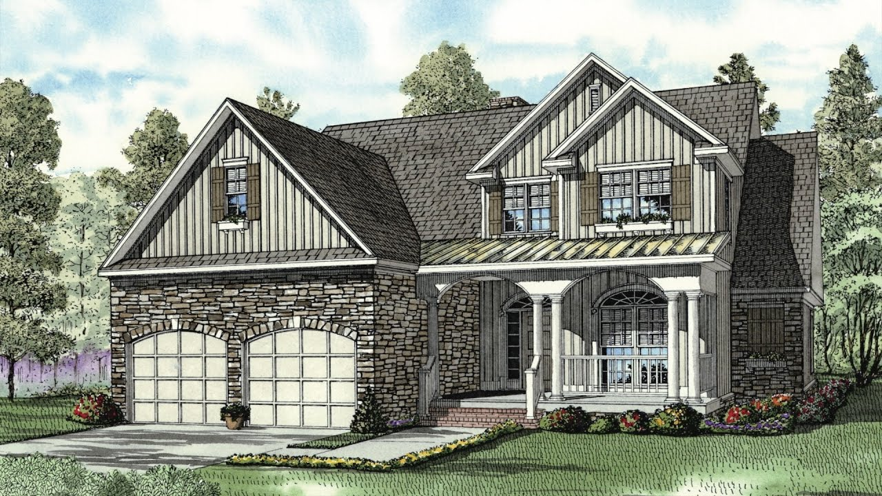 maxresdefault house plan ndg 844 (the ambrose boulevard) visual open house youtube,Ambrose House Plan